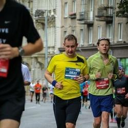 12th Danske Bank Vilnius Marathon - Saulius Imbrazas (833), Donatas Abrutis (2939)