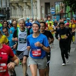 12th Danske Bank Vilnius Marathon - Audrius Jasiulaitis (646), Živilė Miežytė (3892)