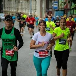 12th Danske Bank Vilnius Marathon - Eglė Maželė (94), Ingrida Voicechovska (3205), Raimundas Rinkevičius (3742)