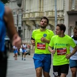 12th Danske Bank Vilnius Marathon - Giedrius Raudonius (3317), Alius Serenas (3457)
