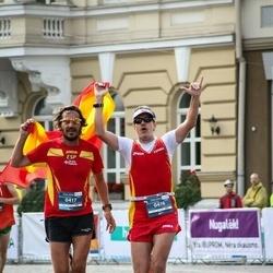 12th Danske Bank Vilnius Marathon - Carlos Galvache Oliver (416), Melchor Saiz-Pardo De Benito (417)