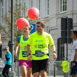 12th Danske Bank Vilnius Marathon - Imants Antužāns (684), Linda Beldava (688)