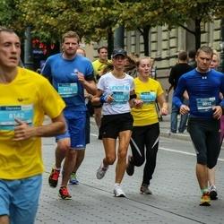 12th Danske Bank Vilnius Marathon - Dainius Meilunas (12), Vilija Parimskytė (8173), Simona Saiminikaitė (8709), Sarunas Domasius (8904)