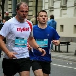 12th Danske Bank Vilnius Marathon - Raimondas Urbietis (7545), Mindaugas Vita (9288)
