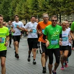 12th Danske Bank Vilnius Marathon - Gediminas Skirelis (7180), Algirdas Juozėnas (8631)