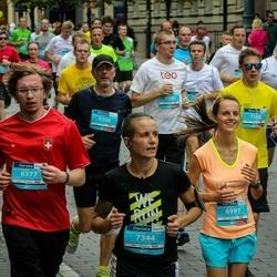 12th Danske Bank Vilnius Marathon - Vytautas Jankauskas (6377), Justė Šovaitė (6997), Živilė Čepukė (7344)