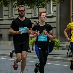 12th Danske Bank Vilnius Marathon - Erika Butrimanskienė (8099), Juozas Jankauskas (9065)