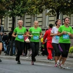 12th Danske Bank Vilnius Marathon - Gabrielė Jaglinskienė (7659), Kristė Šimanskytė (9072), Ieva Vainauskaitė (9078)