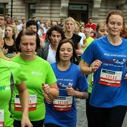12th Danske Bank Vilnius Marathon - Eglė Joana Šatkutė (12132), Kotryna Brundzaitė (12135), Rasma Jukonė (12858)