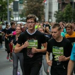 12th Danske Bank Vilnius Marathon - Lukas Trinka (15751), Saulius Dubauskas (19058)