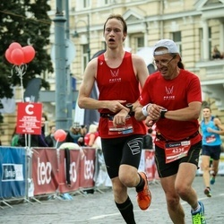 12th Danske Bank Vilnius Marathon - Povilas Pauliukevičius (2641), Arūnas Kučinskas (4236)