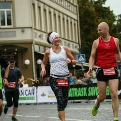 12th Danske Bank Vilnius Marathon - Valdone Kybartiene (3011), Marius Kybartas (4048)