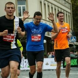 12th Danske Bank Vilnius Marathon - Šarūnas Purvinis (2138), Artūras Bytautas (2565)