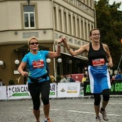 12th Danske Bank Vilnius Marathon - Kaisu Kaikkonen (2206), Johanna Niemi (2711)