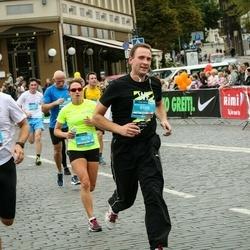 12th Danske Bank Vilnius Marathon - Marius Masiulionis (6158), Algirdas Šimkūnas (6590)