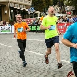 12th Danske Bank Vilnius Marathon - Ignas Damskis (6604), Tomas Vaišvila (6720)