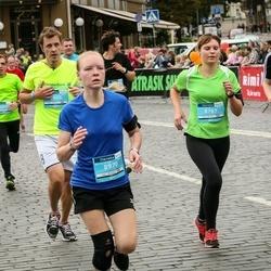 12th Danske Bank Vilnius Marathon - Audrius Masilionis (7079), Indrė Rimeisytė (8787), Anete Pažusa (8970)