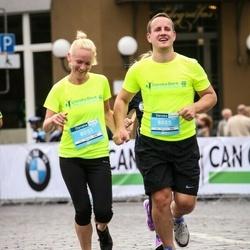 12th Danske Bank Vilnius Marathon - Agnese Kaģe (8051), Jānis Mosāns (8055)