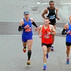 12th Danske Bank Vilnius Marathon - Teklu Getu Metaferia (554), Ignas Brasevicius (2863), Domantas Balsys (3323), Dzmitry Hryhoryeu (3973)