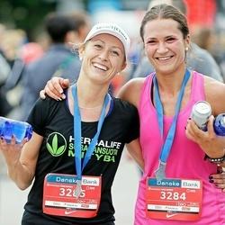 12th Danske Bank Vilnius Marathon - Indrė Plegevičiūtė (3284), Eglė Krištapinytė (3285)
