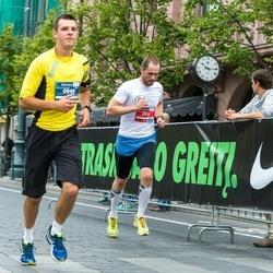 12th Danske Bank Vilnius Marathon - Justas Uža (949), Algimantas Anilionis (2810)