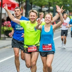 12th Danske Bank Vilnius Marathon - Mindaugas Pašvenskas (3269), Irma Urmonaitė (3271)