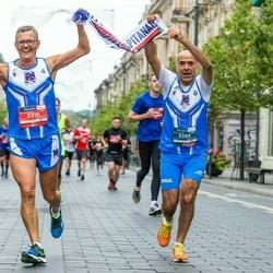 12th Danske Bank Vilnius Marathon - Michele Tarquinio (395), Gaetano Umbriano (2316)