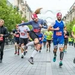 12th Danske Bank Vilnius Marathon - Laura Stūrīte (2956), Sandis Kanbergs (2957), Stanislav Sorokin (3470)