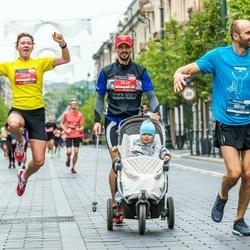 12th Danske Bank Vilnius Marathon - Tomas Leščiukaitis (10), Aleksey Grigorev (2639), Olga Grigoreva (2640)