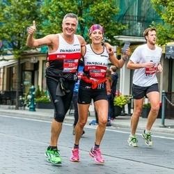 12th Danske Bank Vilnius Marathon - Andoni Izquierdo (2211), Amaia Iribarren (2212)