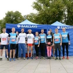 12th Danske Bank Vilnius Marathon - Dovydas Sankauskas (1026), Edgaras Jasinskij (1030), Mykolas Juzko (1031), Dovilė Vaičikonytė (3943), Aidas Pelenis (3945), Mantas Preisegolavicius (3946), Lauras Susa (3948), Arnita Peceliunaite (3952)