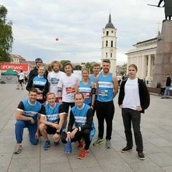 12th Danske Bank Vilnius Marathon - Dovydas Sankauskas (1026), Mykolas Juzko (1031), Lauras Susa (3948)