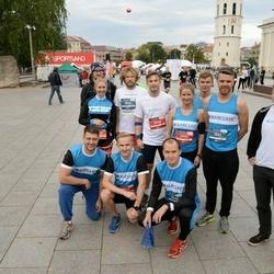 12th Danske Bank Vilnius Marathon - Dovydas Sankauskas (1026), Edgaras Jasinskij (1030), Mykolas Juzko (1031), Aidas Pelenis (3945), Lauras Susa (3948)