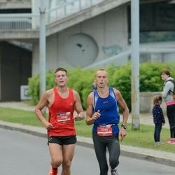 12th Danske Bank Vilnius Marathon - Dariuš Danilevičius (3340), Jaroslav Smilskij (3341)