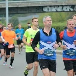 12th Danske Bank Vilnius Marathon - Andrew Stephen (319), Kevin Reid (324)