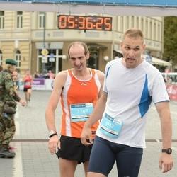 12th Danske Bank Vilnius Marathon - Jonas Pokštas (6042), Konstantinas Tichonovas (7707)