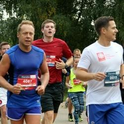 12th Danske Bank Vilnius Marathon - Edvard Sadovskij (15), Augustas Juknevičius (2474), Sigitas Dainys (4087)
