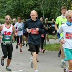 12th Danske Bank Vilnius Marathon - Grant Hopkins (1134), Vygantas Petkevicius (4129)