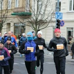 Vilnius Christmas Run - Ernestas Lapinskas (481), Gediminas Karveckas (599)