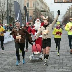 Vilnius Christmas Run - Laima Grižaitė (157), Marijonas Radžiūnas (210), Armandas Rokas (381), Valdas Rokas (385)