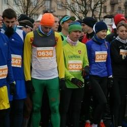 Vilnius Christmas Run - Vaida Žūsinaitė (635), Valdas Dopolskas (636), Mindaugas Viršilas (823)