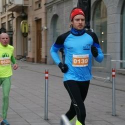 Vilnius Christmas Run - Antanas Steponavičius (139), Ernestas Vedeikis (629)