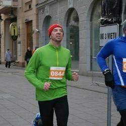 Vilnius Christmas Run - Andrius Tala (803), Saulius Kerza (844)