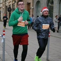 Vilnius Christmas Run - Ričardas Vandzinskas (359), Marek Baslyk (423)
