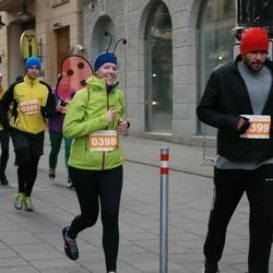 Vilnius Christmas Run - Simona Rinkevičiūtė (398), Vilmantas Gimžauskas (399)