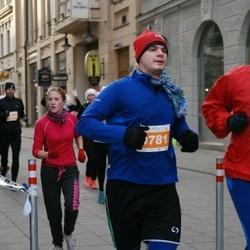 Vilnius Christmas Run - Justinas Šimanskis (778), Artūras Semaško (781)