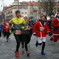 Vilnius Christmas Run - Rimvydas Morkūnas (2037), Mindaugas Kardamovicius (2509)