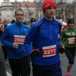 Vilnius Christmas Run - Paulius Jankausas (2272), Vaidas Stadalius (2502)