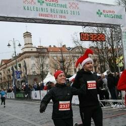 Vilnius Christmas Run - Mantas Ambrazevičius (2336), Gintarė Buzilauskaitė (2337)