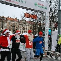 Vilnius Christmas Run - Alvaidas Dombrovickas (2483), Donatas Šiniauskas (2484), Egidijus Vičas (2486)
